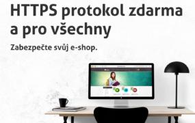 Google hrozí, my jsme ale připraveni <br>Zabezpečení HTTPS/SSL zdarma pro všechny eshopy